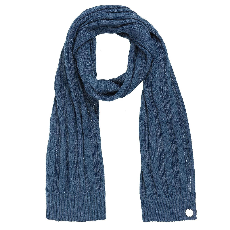 Regatta Frosty Stylish Womens Scarf Blue Warm Knit Ladies Winter Fashion Walking