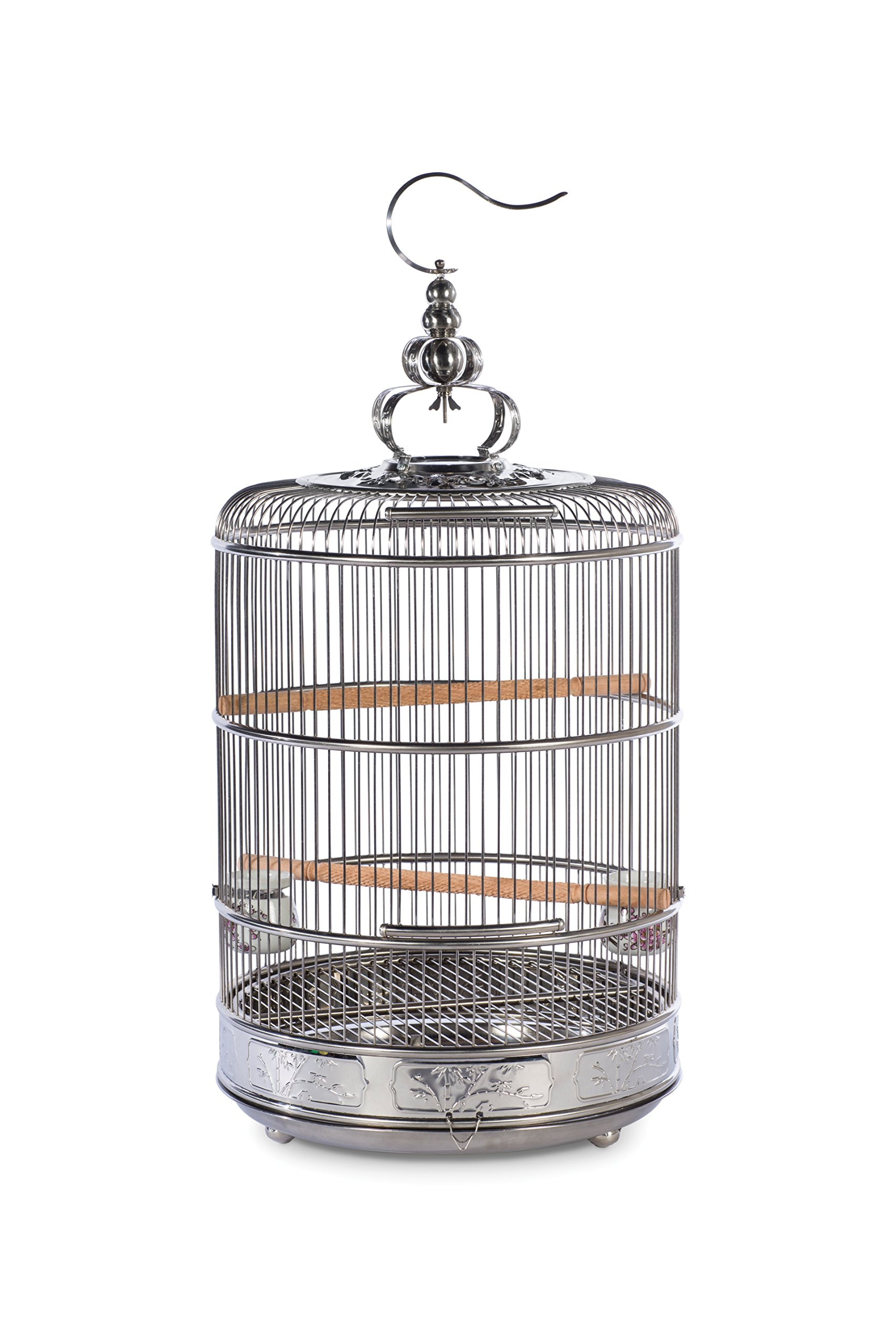 Prevue Pet Products Prevue Pet Products Empress Stainless Steel Bird Cage 151, Stainless Steel