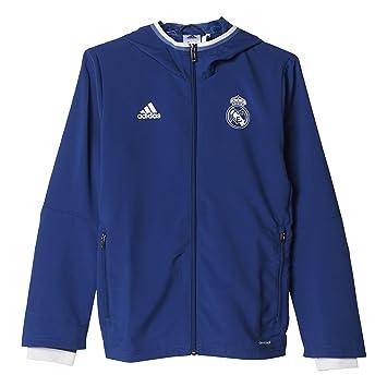 adidas Pre Jkt Y Chaqueta Línea Real Madrid C.F. Real Madrid Fc ... d0042b8e28206
