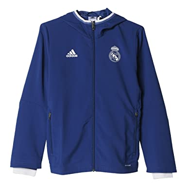 adidas Pre Jkt Y Chaqueta Línea CF Real Madrid FC, Niños