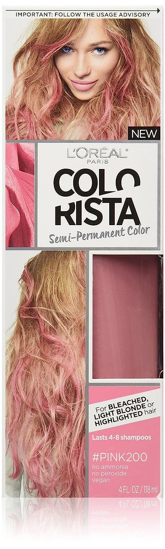 Amazon Loral Paris Colorista Semi Permanent Hair Color For