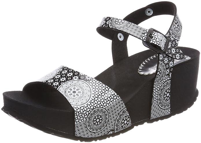 Desigual Shoes_bio7 Alhambra, Sandales Bride Arrière Femme, (2000 Negro), 38 EU
