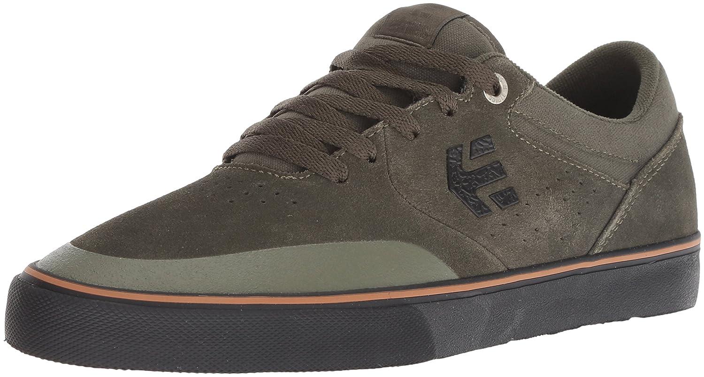 Etnies Marana Vulc Zapatillas De Skate, de Cuero, para Hombre 42.5 EU|Green (Green/Black)