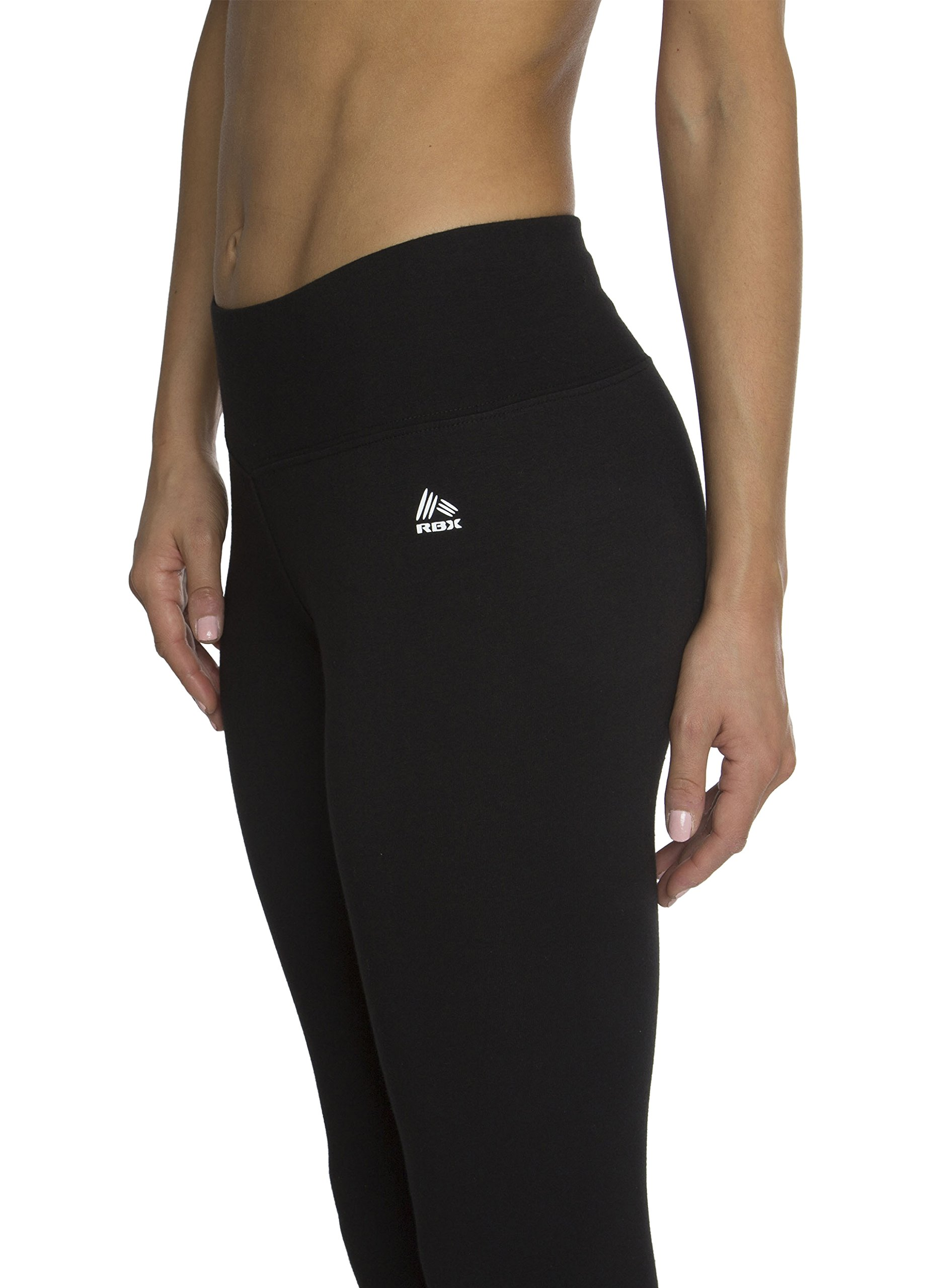 a640a9cb5b009 RBX Active Women's Cotton-Spandex Jersey Leggings - Shop The Weed Scene