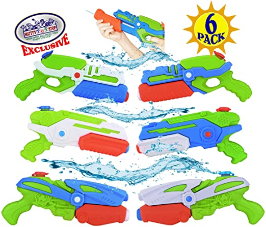 Mattys Toy Stop Pistola de Agua Blasters 17oz Capacidad de Agua ...