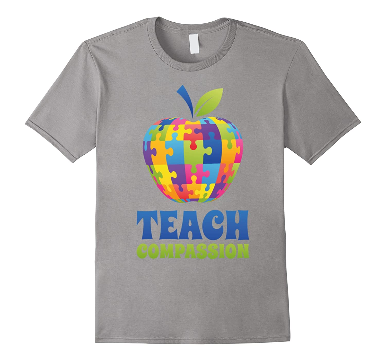 cool teach compassion t shirt autism awareness day gifts goatstee. Black Bedroom Furniture Sets. Home Design Ideas