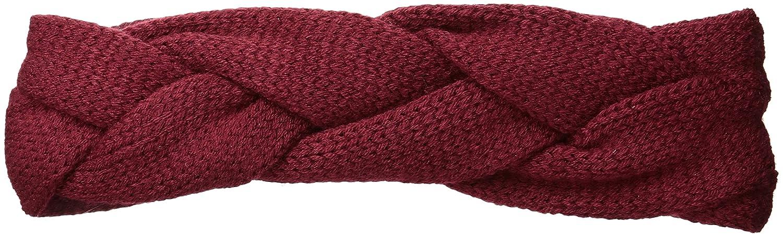 RAMPAGE Women's Knit Braid Headwrap Black One Size ECR-1013L