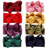 Baby Nylon Headbands Hairbands Hair Bow Elastics for Baby Girls Newborn Infant Toddlers Kids