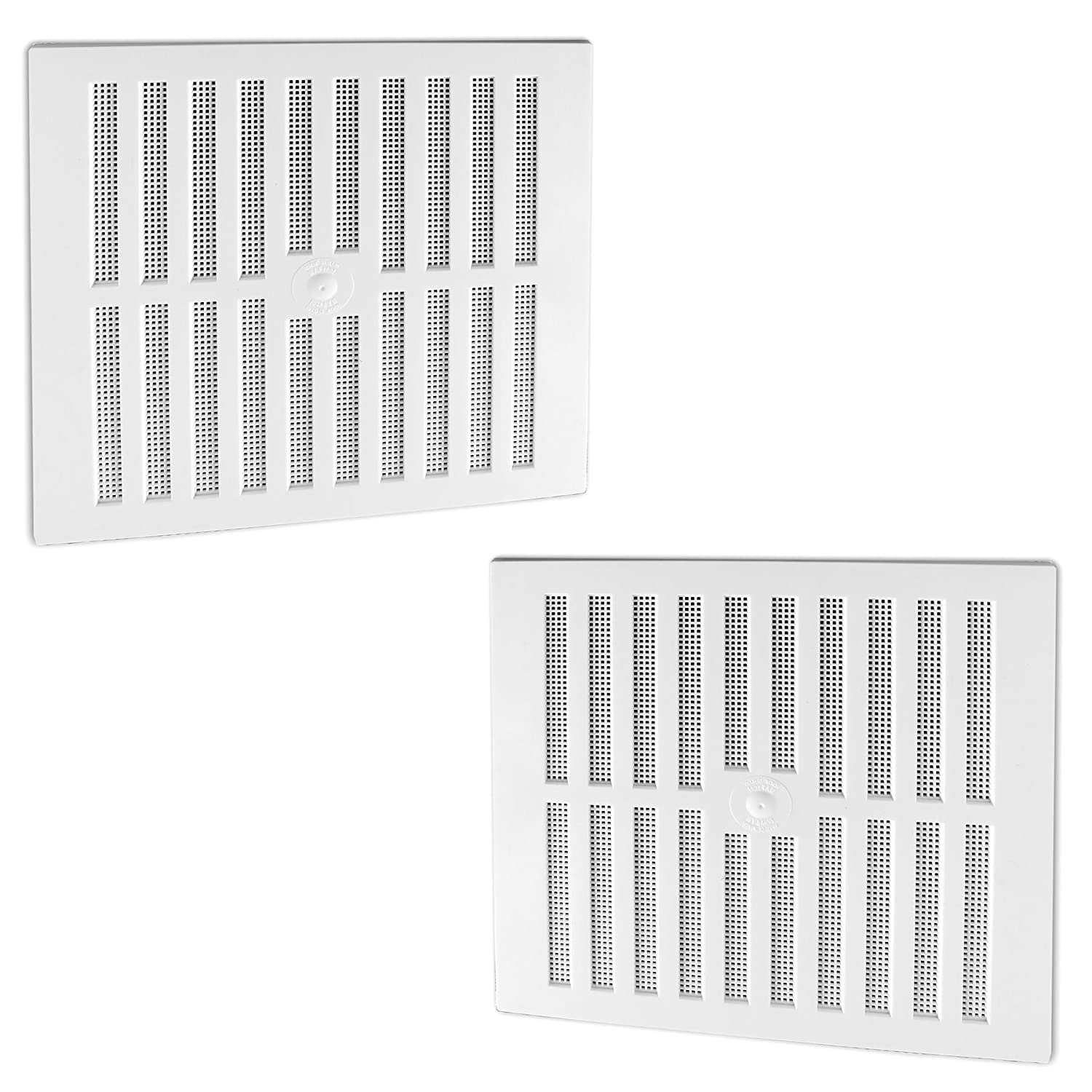 Rytons WHITE Adjustable9 X 6  HIT /& MISS Air VENT VENTLATOR FLY SCREEN Cover