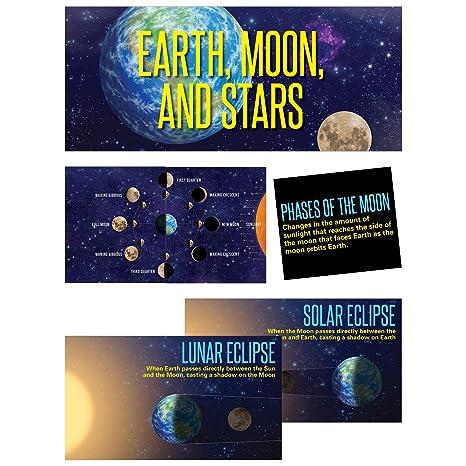 Grade 1 /& Up Moon /& Stars Mini Bulletin Board Creative Teaching Press Earth 6989