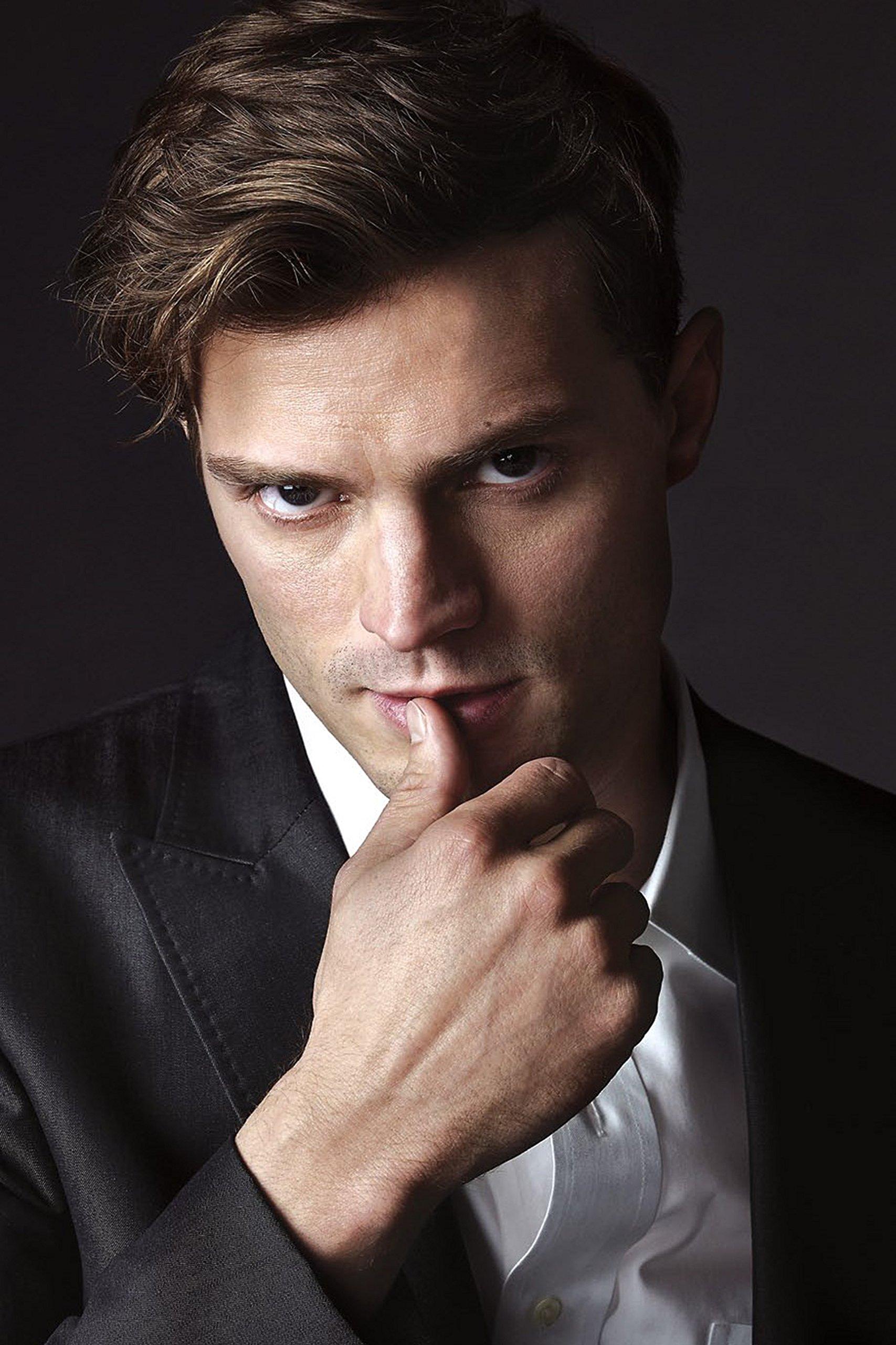 "Fifty Shades of Grey - Mr. Grey , Movie Poster (Thick) (Size: 12 x 18"") Jamie Dornan, Dakota Johnson"
