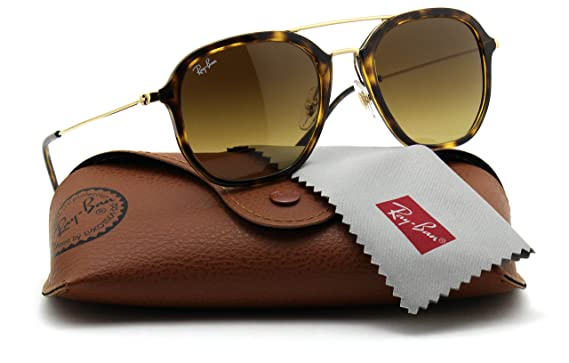 5768ec85201 Image Unavailable. Image not available for. Color  Ray-Ban RB4273 710 85  Aviator Tortoise Frame   Gradient Brown Lens