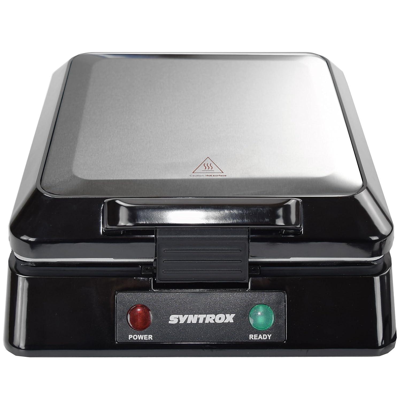 Syntrox Kg-2000w Kontaktgrill Xxl Mit Keramikplatten Sport Kleingeräte Küche