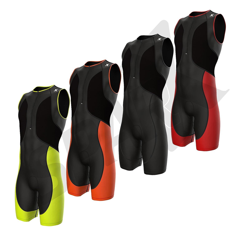 Sparx Compression Men's Triathlon Suit Bike Tri Skin Cycling Suit Bike Swim Run Sparx Sports