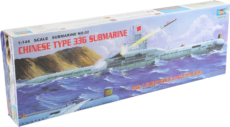 Trumpeter 05902 Modellbausatz Chinesisches U-Boot Type 33 G