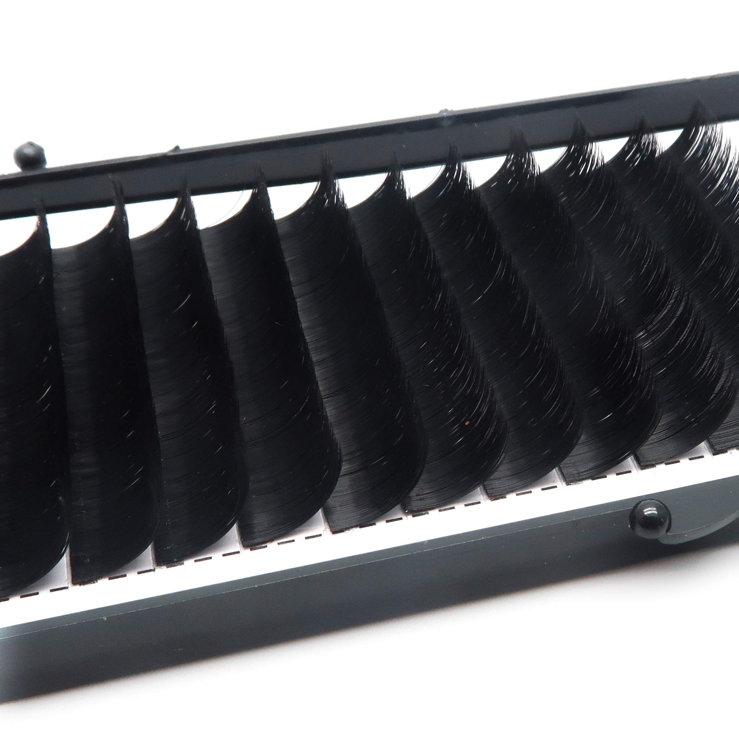 0.07mm C Curl Easy Volume Auto Bloosom Fan Professional Eyelash Extensions Makeup Lashes Individual Eyelashes