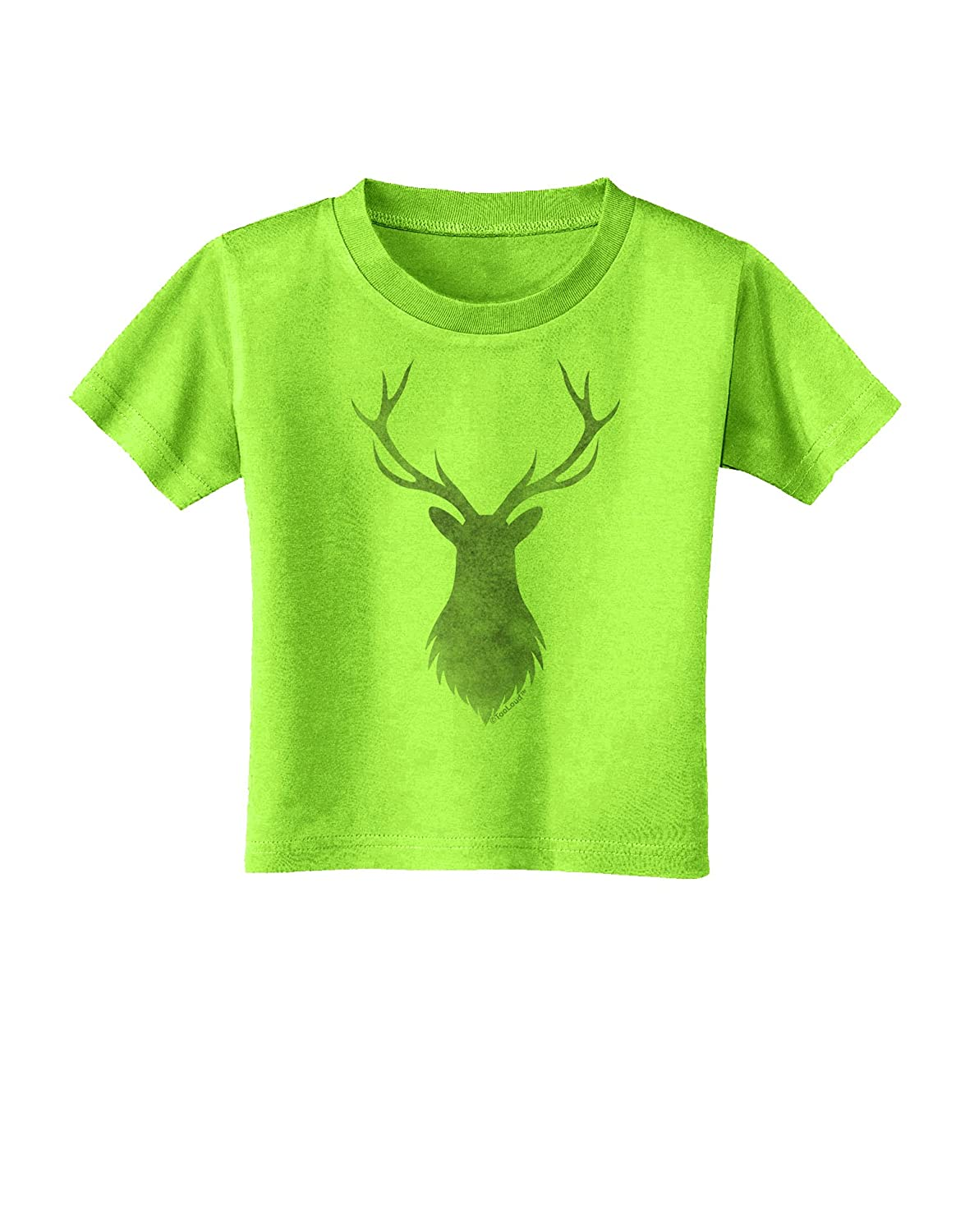 TooLoud Majestic Stag Distressed Toddler T-Shirt