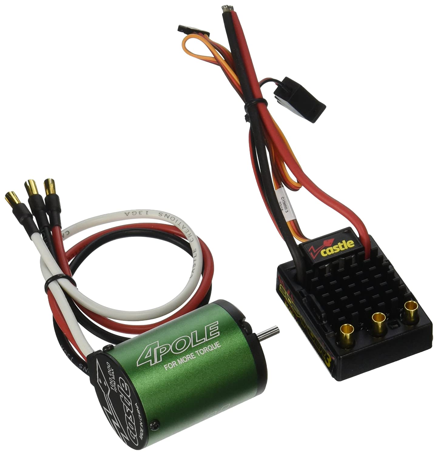 81sm1wa8yTL._SL1500_ amazon com castle creations sidewinder 3 waterproof esc with castle motor wiring diagram at readyjetset.co