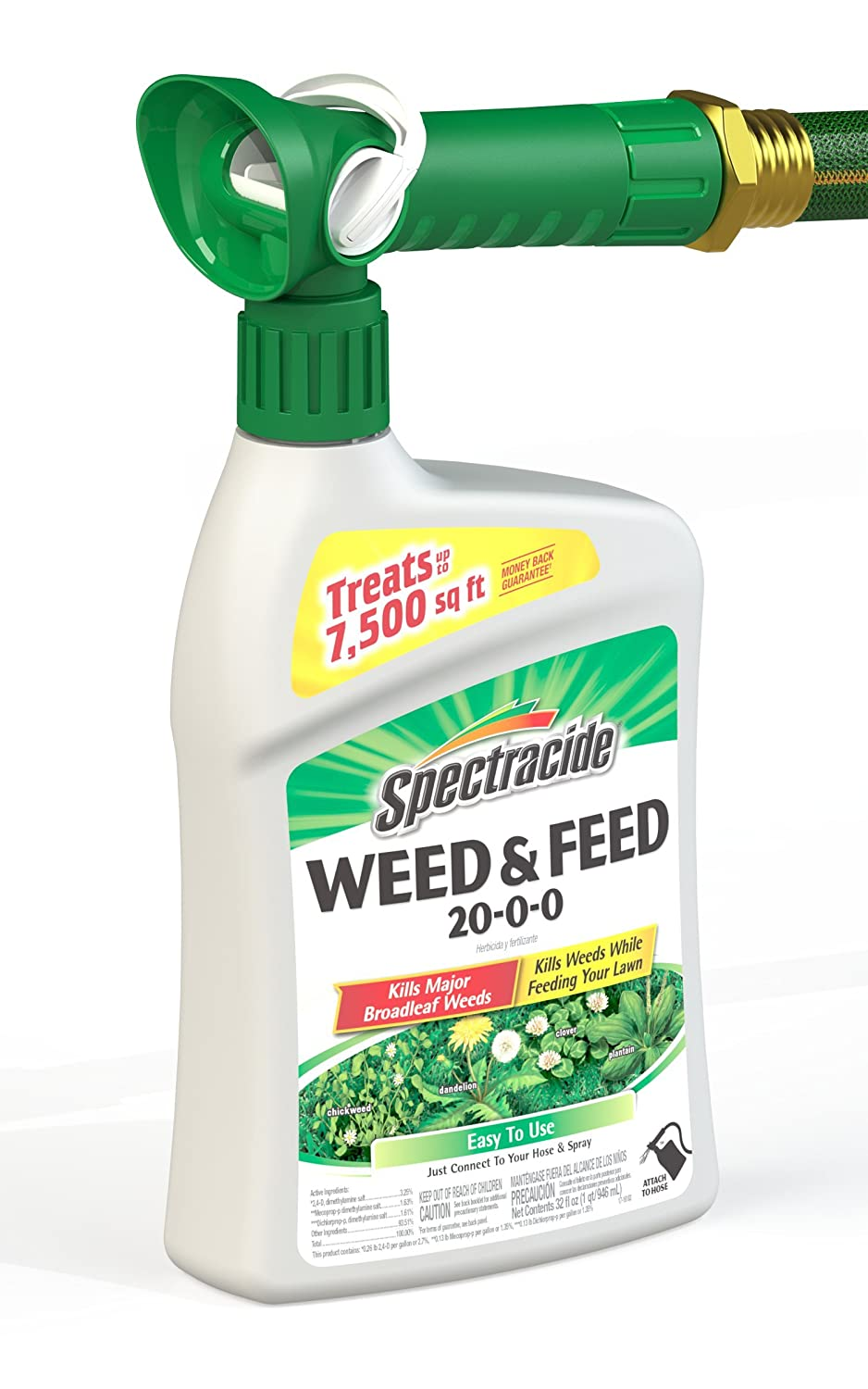 Amazon Com Spectracide Weed Feed 20 0 0 Ready To Spray 32