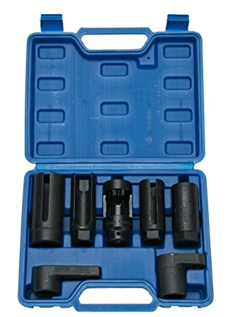 FreeTec 7pcs O2 Oxygen Sensor & Oil Pressure Sending Unit Master Sensor  Socket Set