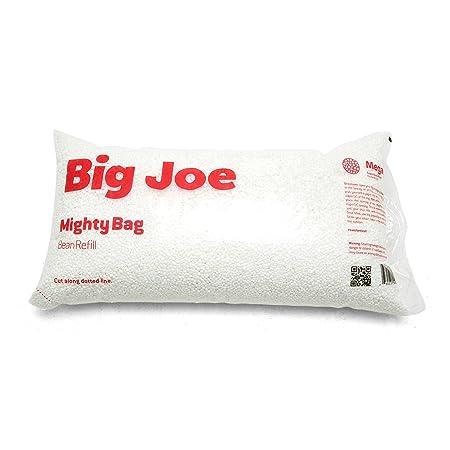 Big Joe Comfort Research Megahh UltimaX Bean Bags Refill, 100 L, White – 9999999