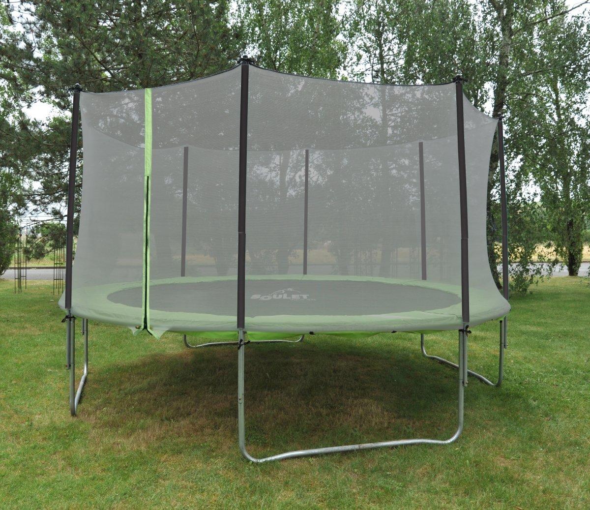 Soulet – 770536 – Natursport und Sports – Gemeinsam Trampolin – ø365 cm