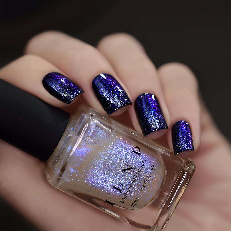 Amazon.com : ILNP Abyss - Glowing Blue, Deep Purple Iridescent ...