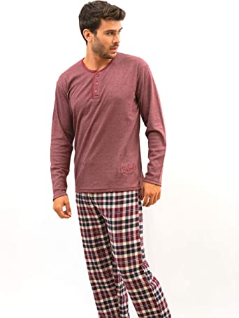 BABELO HOMEWEAR 🏠 - Pijama de Hombre – Pijama de Hombre 100 ...