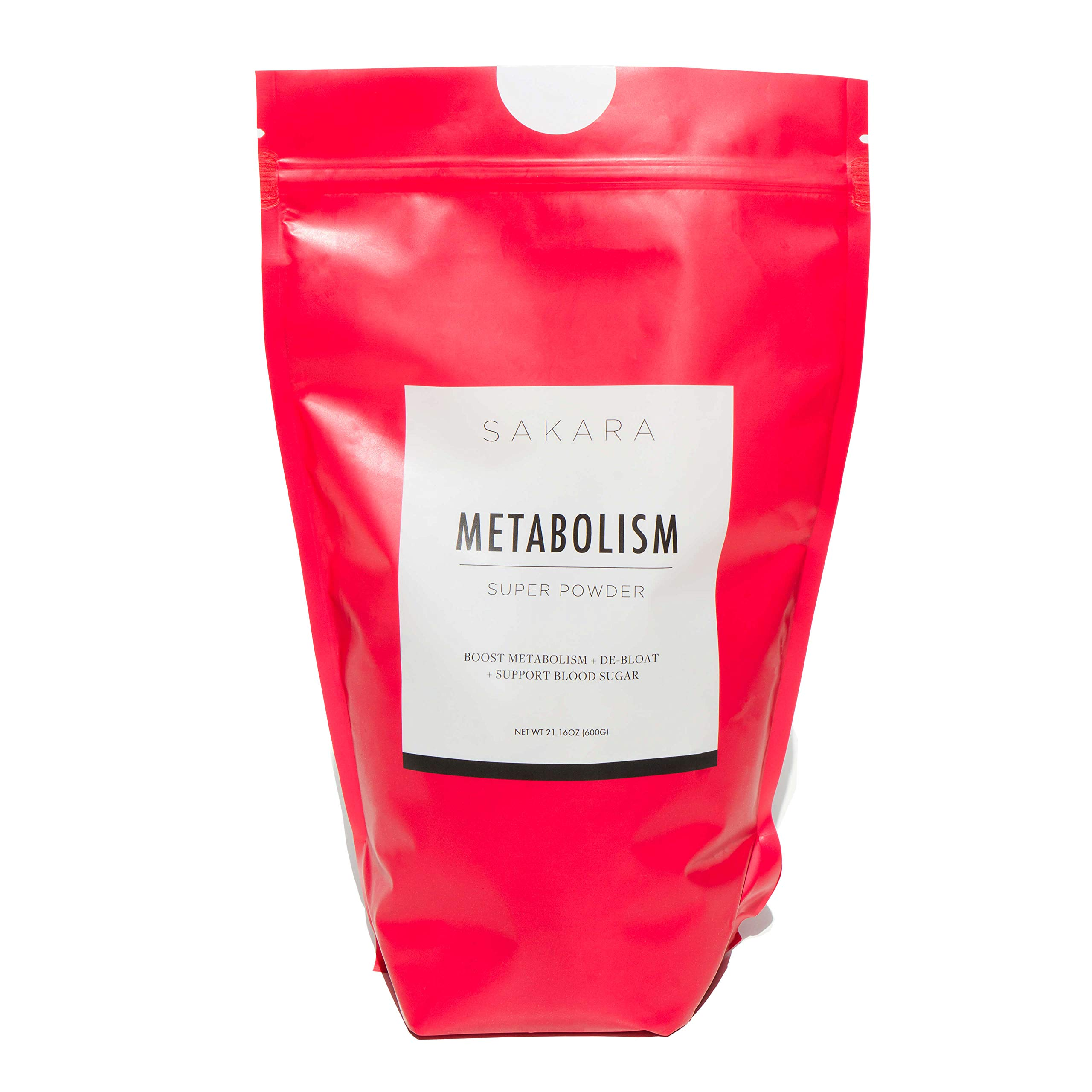 Metabolism Super Powder for Weight Loss, 30 Pack by SAKARA