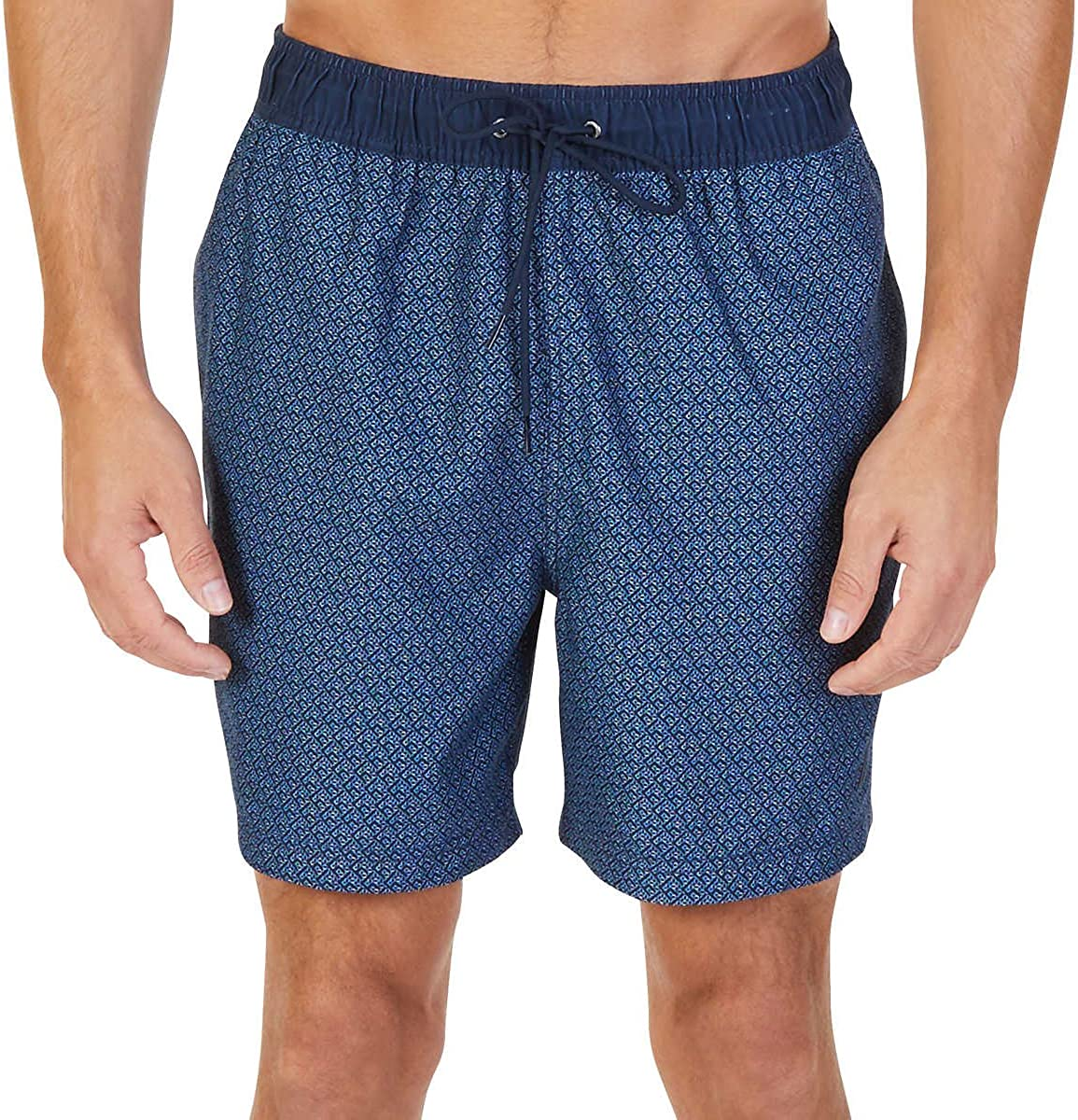 Nautica Mens Quick Dry Hawaiian Fish Swim Trunk