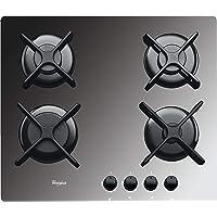 Whirlpool AKT 2000/MR plaque Miroir Intégré Gaz - Plaques (Miroir, Intégré, Gaz, Verre, Rotatif, En haut devant)
