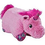 """Pillow Pets Colorful Pink Unicorn - 18"""" Stuffed Animal Plush Toy"""