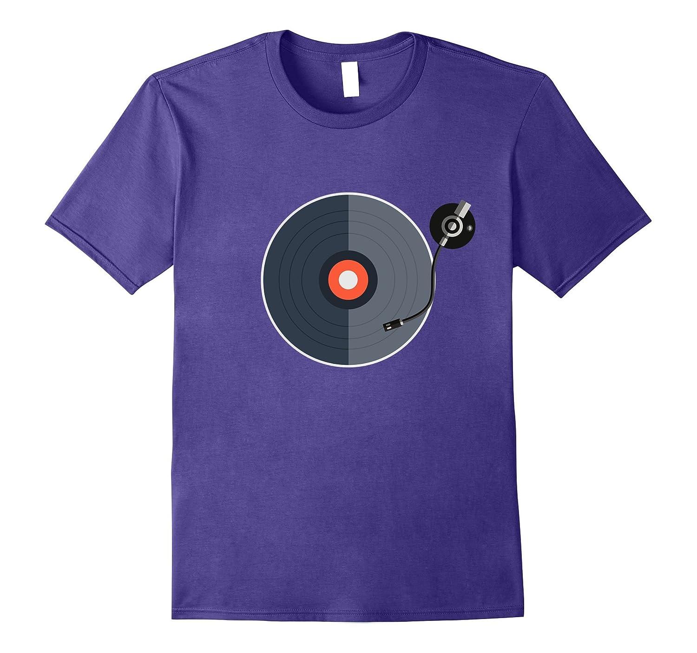 Vinyl Disk DJ T-Shirt-Vaci