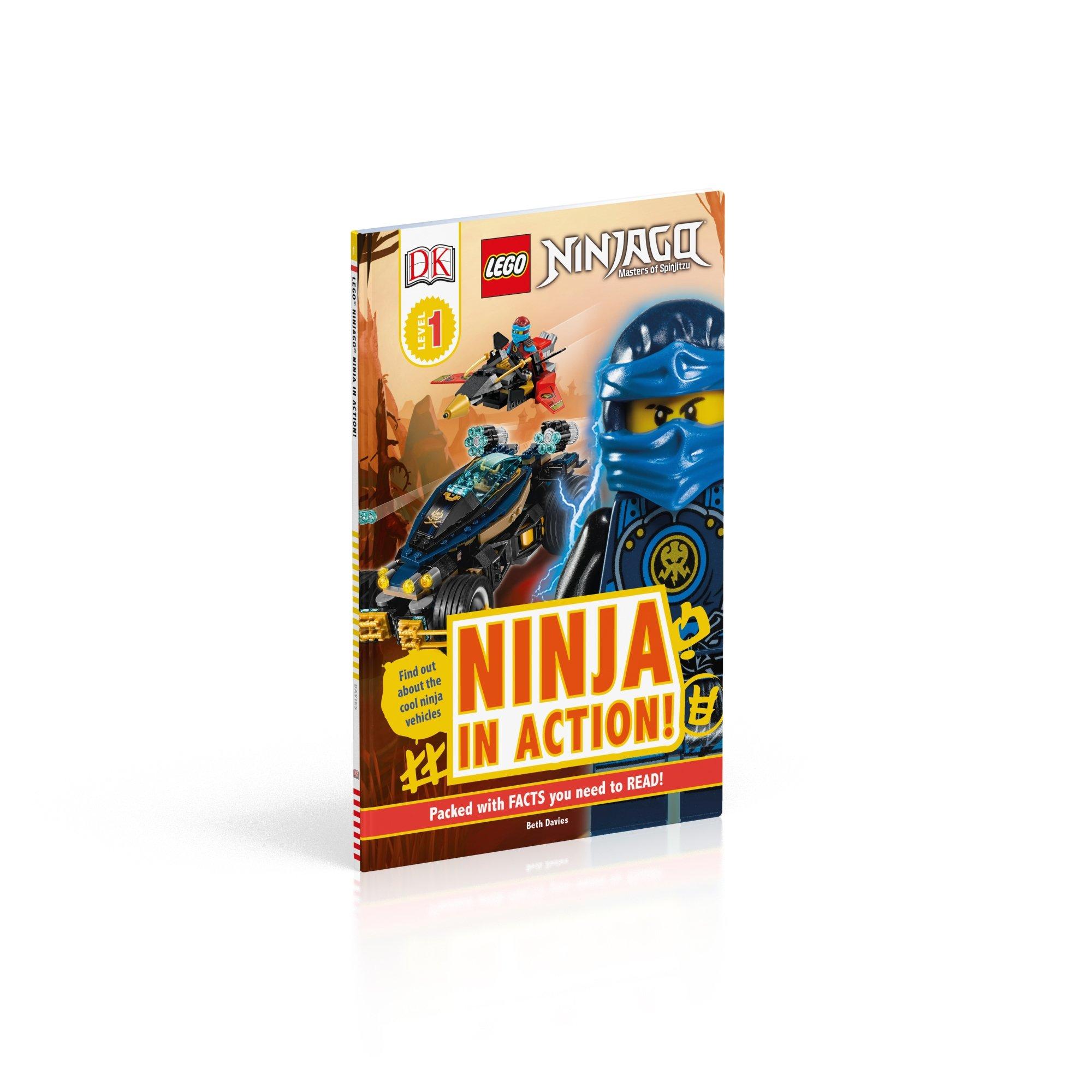 DK Readers L1: Lego Ninjago: Ninja in Action Lego Ninjago ...