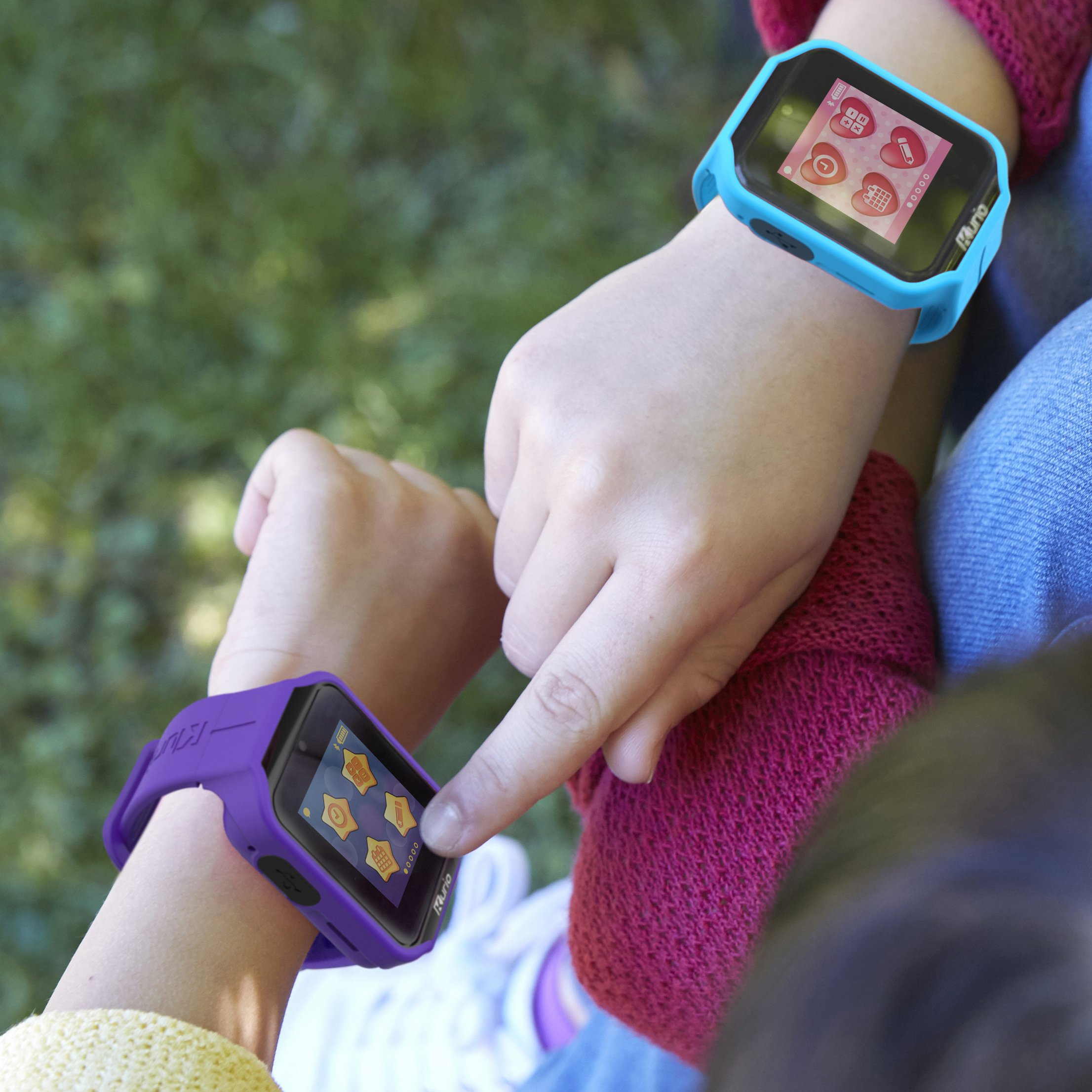 Kurio Watch 2.0+ The Ultimate Smartwatch Built for Kids with 2 Bands, Blue and Color Change by KD Interactive (Image #3)