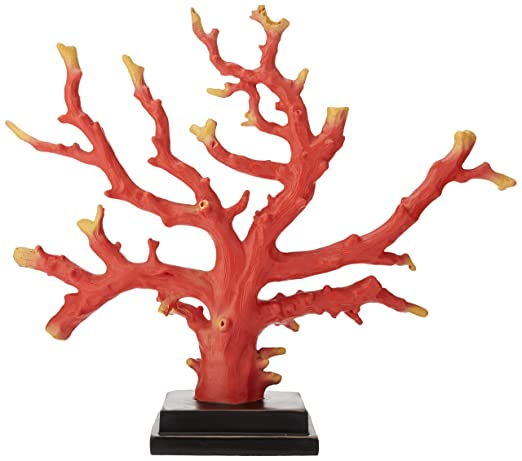 Christmas Tablescape Decor - Red faux corallium coral species tabletop decoration