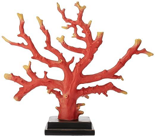 Christmas Tablescape Decor - Red faux corallium coral species tabletop decoration