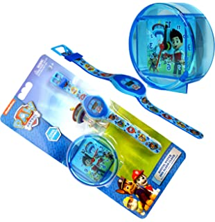 Paw Patrol, Digital Watch & Alarm Clock Set Official Licensed