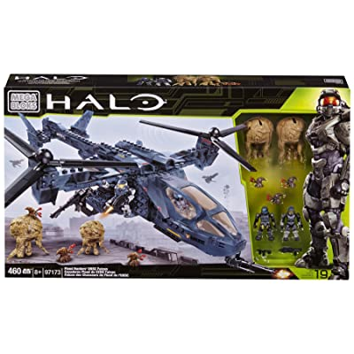 Mega Bloks Halo Flood Hunters UNSC Falcon: Toys & Games