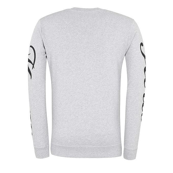 Kenzo Mens Pearl Grey Jumping Tiger Sweatshirt at Amazon Mens Clothing store: