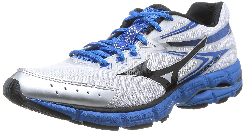 Mizuno - Zapatos para Hombre 45 EU|White (White/Black/Directoire Blue)