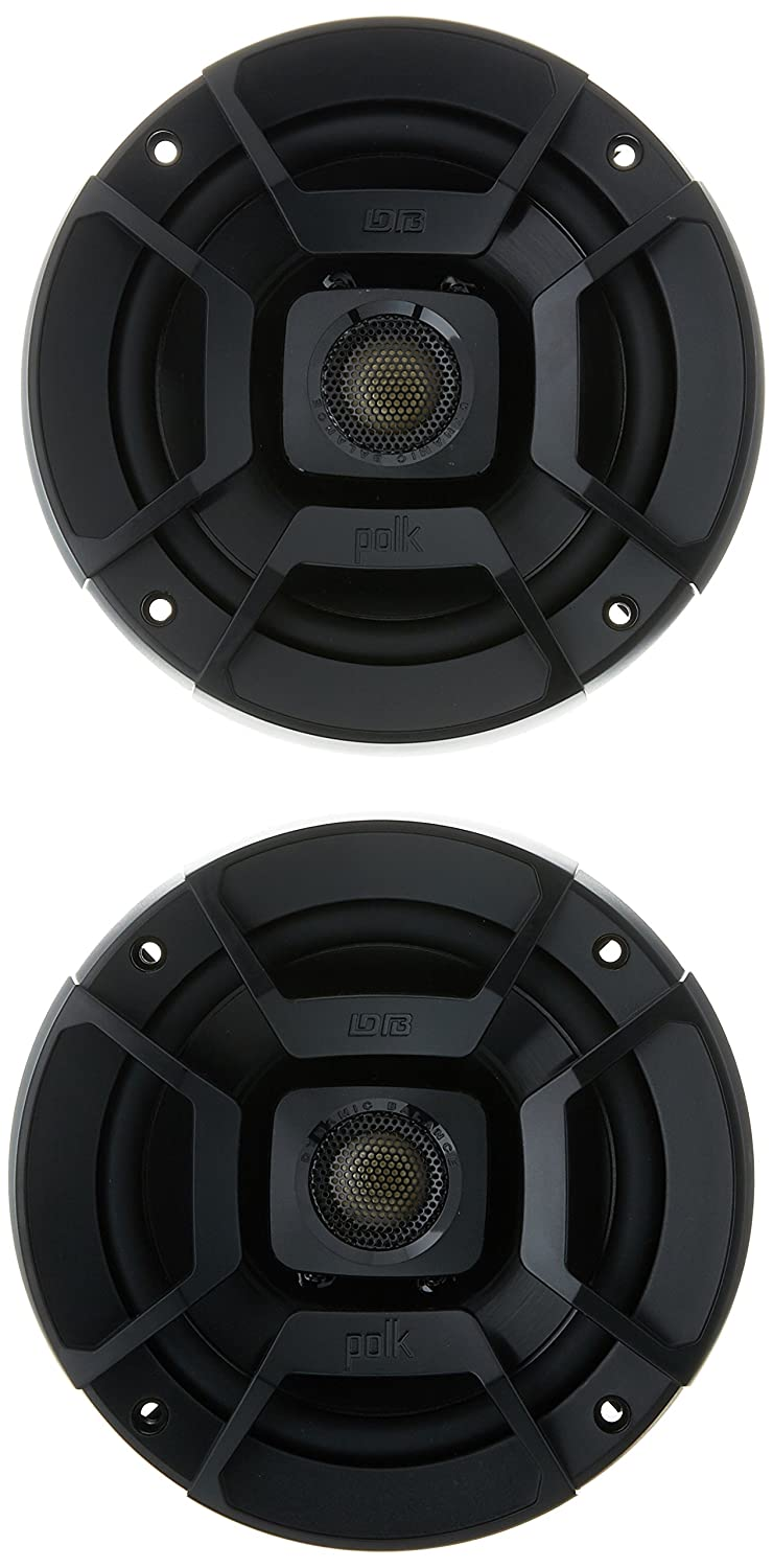 Polk Audio DB522 Outdoor Coaxial Home Speaker, Set of 2, Black Polk Canada
