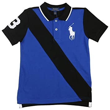 4ce9a6ea Image Unavailable. Image not available for. Color: Ralph Lauren Baby Boys  Big Pony Cotton Polo Shirt ...