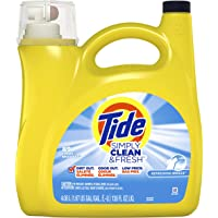 Deals on Tide Simply Clean & Fresh Liquid Laundry Detergent 138 Oz