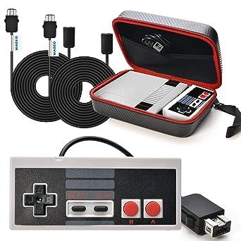 SNES Classic Mini Tasche WADEO NES Controller Usb Nintendo Classic Mini Edition Controller mit SNES Mini Verlängerungskabel 3