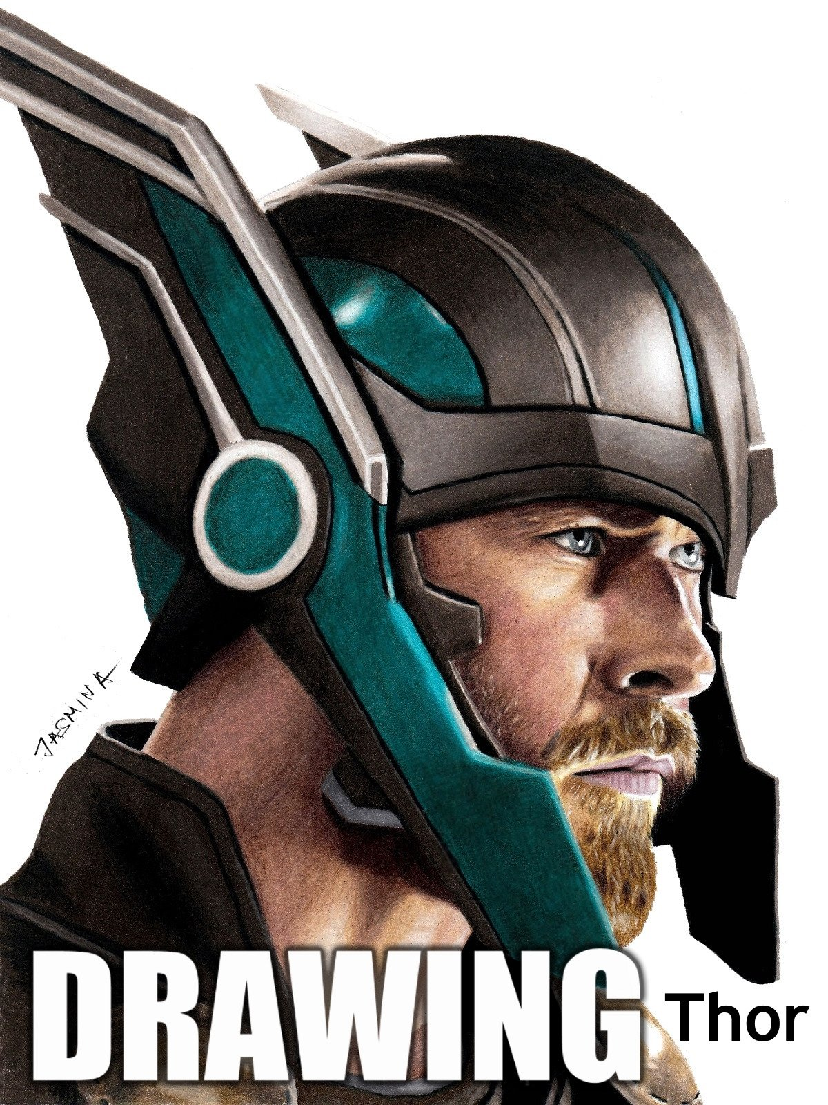 Drawing Thor by