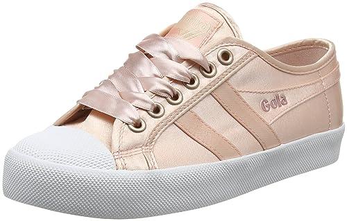 Gola Coaster Satin Blush Pink Weiß, Mujer Zapatillas para Mujer Weiß,  Amazon ... 3c7523
