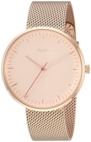 01348f78d1a6 Fossil Essentialist Reloj de Mujer Cuarzo 38mm Correa de Acero ES4425   Amazon.es  Relojes