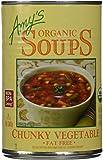 Amy's Organic Soups, Chunky Vegetable, 14.3 Ounce