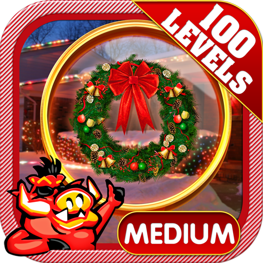 Christmas Lights - Hidden Object Challenge # 170 (Christmas Light Differences)